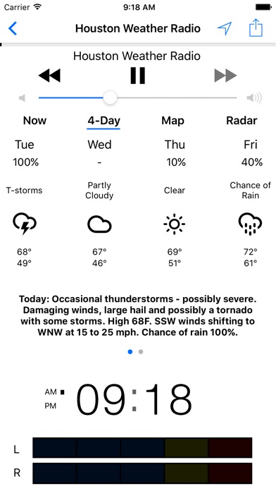 NOAA Weather Radio iPhone
