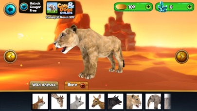 Screenshots of My Wild Pet Online Cute Animal Rescue Simulator for iPhone