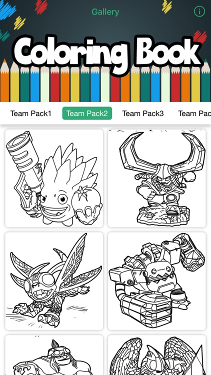 Skylanders Coloring Book For Imaginators Creator by RYAN BERTROW