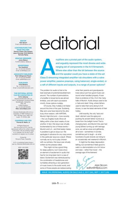Hi Fi Plus Magazine review screenshots