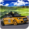 New Taxi Car Drive : Mountain Road Runner Game 3D