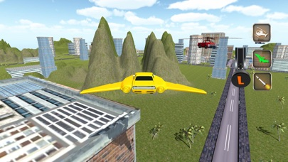 Futuristic Flying Car Copter-Real Flight Simulator iOS Game
