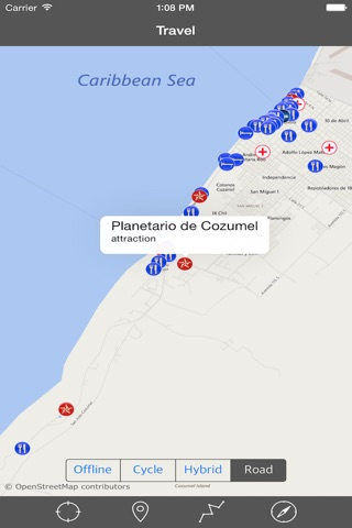 COZUMEL ISLAND – GPS Travel Map Offline Navigator screenshot 4
