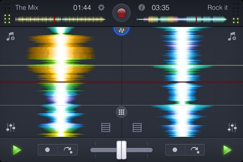 djay 2 for iPhone screenshot 3