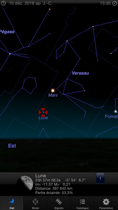 Screenshot Astro 3D: Le ciel, les étoiles et l'astronomie