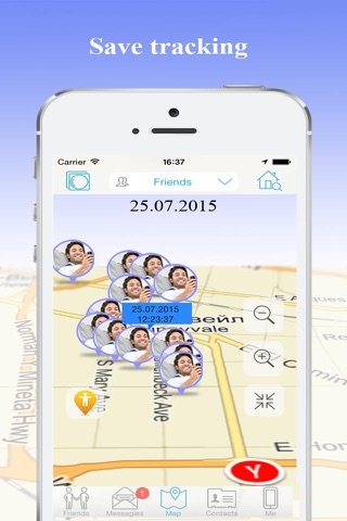 iMap - Find My Phone & Friends screenshot 3