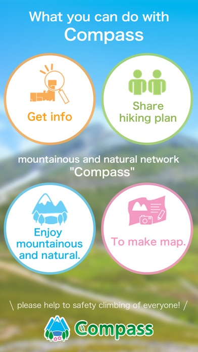 Compass - Mountains & Nature. Скриншоты3