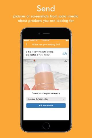 iwant social eCommerce screenshot 1