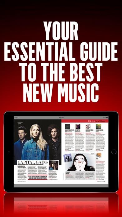 Q Music Magazine review screenshots