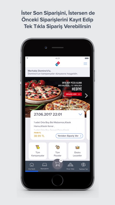 Domino's Pizza Türkiye screenshot