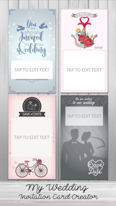 My Wedding Invitation Card Creator On The App Store