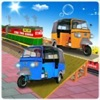 Auto Rickshaw Cargo Train : Rail Drive 3D Game