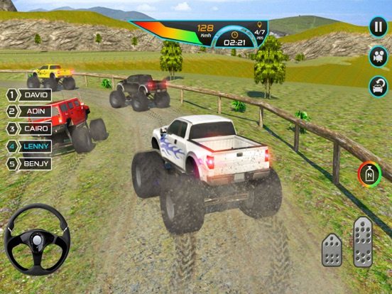 Off-road Trial Extreme Truck Racing screenshot 9
