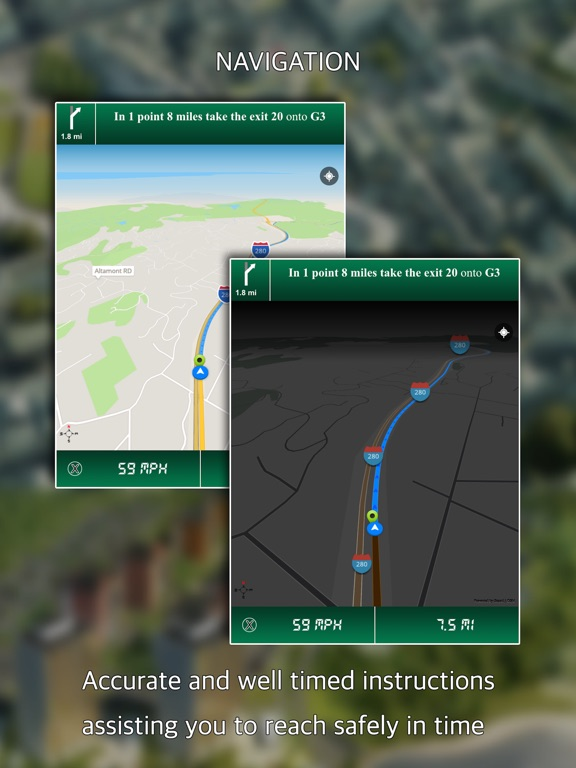 Image Result For Gps Direction On The App Store Itunes Apple