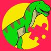 Thana Chumnarnchanarn - Dinosaur Games Education Jigsaw Puzzles artwork