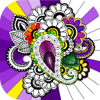 Dibujos Para Colorear Flor - Arte y Musico.terapia Wiki
