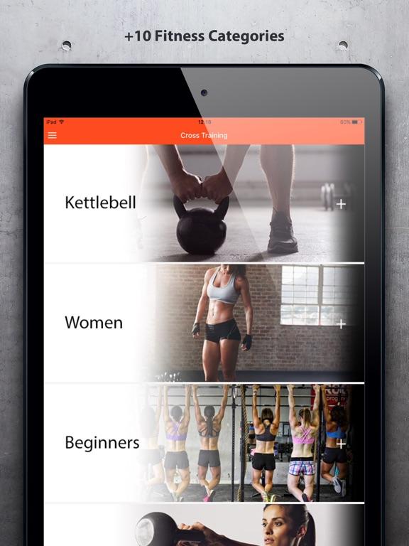 Cross Training - Fit Workouts Screenshots