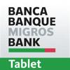 Banque Migros e-banking tablet