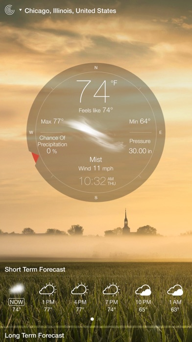 Screenshot #8 for Weather Live - Weather Forecast, Radar and Alerts