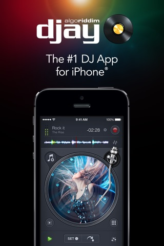 djay 2 for iPhone screenshot 1