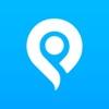 mMap - 付近の住所を検索してGoogleプレイスを検索する