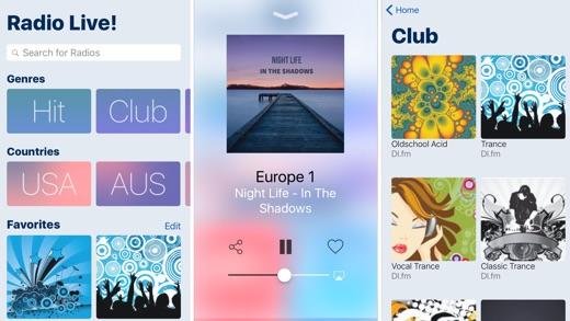 Radio Live! deluxe Screenshot