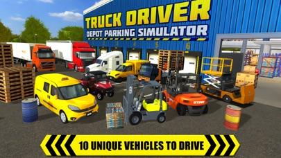 Truck Driver: Depot Parking Simulator Screenshot 5