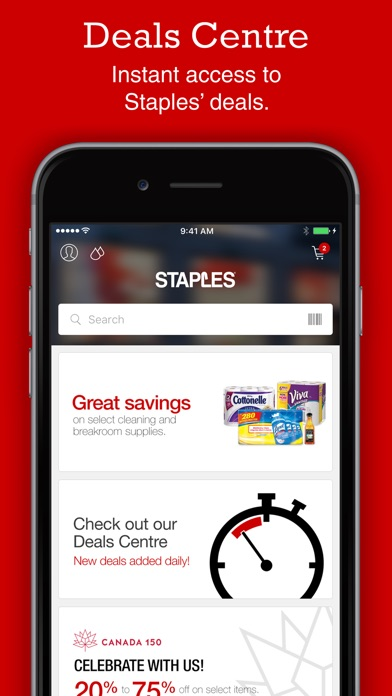 staples home office shopping on the app store. Black Bedroom Furniture Sets. Home Design Ideas