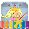 Princess Coloring Games For My Girl and Little Kid