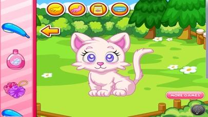 العاب تلبيس قطتي صغيرة الانيقة العاب حيواناتلقطة شاشة1