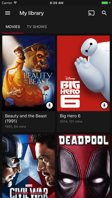 Google Playムービー&TVのスクリーンショット2