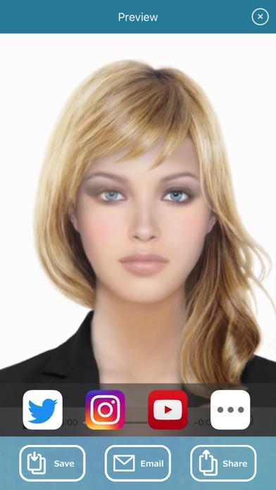 HourFace: 3D Aging Photo Screenshot 5