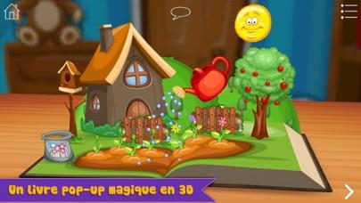 Screenshot Raiponce de Grimm – Livre pop-up interactif en 3D