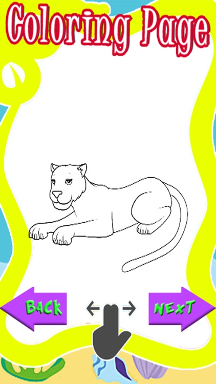 Panther Cartoon Coloring Book Of Tiger By Thana Chamnarnchanarn