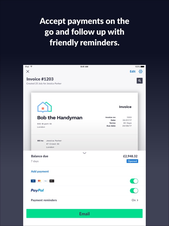 Best Invoice App For Ipad Excel Invoices  Quotes  Invoicego On The App Store Invoice Price Jeep Wrangler Word with Stripe Invoice Excel Ipad Screenshot  Sample Invoice Word Doc Word