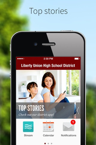 Liberty Union High School District screenshot 1