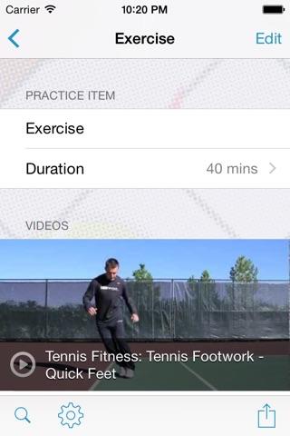 InfiniteTennis Practice Planner screenshot 3