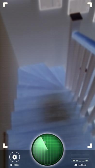 Ghost Detector Radar with Camera Screenshot