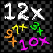 TimesX Times Tables Multiplication Quiz