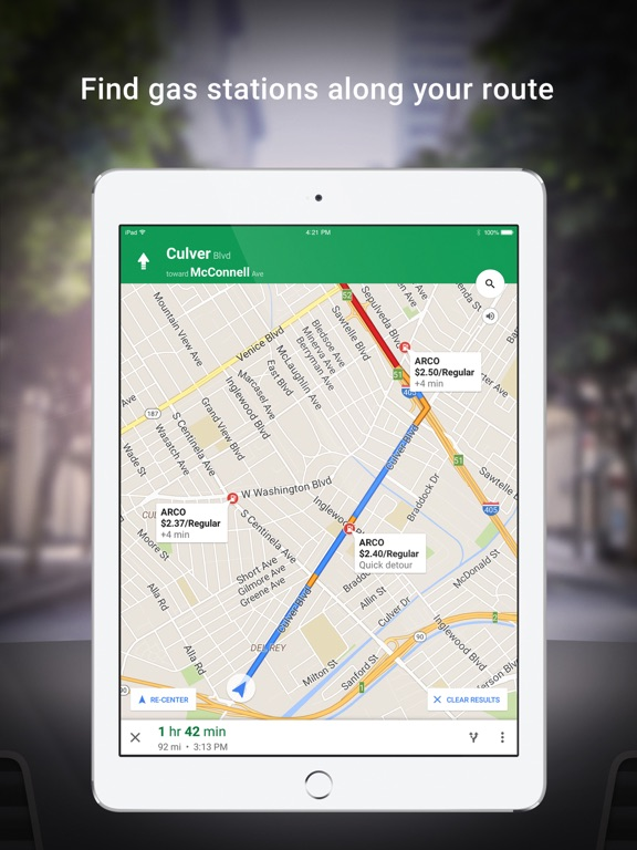 Google Maps - GPS Navigation Screenshots