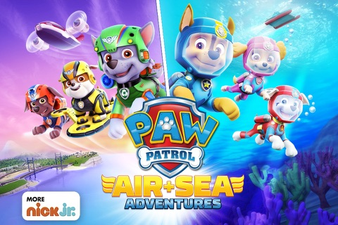 PAW Patrol: Air & Sea screenshot 1