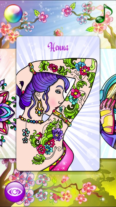 Flowers Coloring Pages for Adult with Rose Mandala Screenshot
