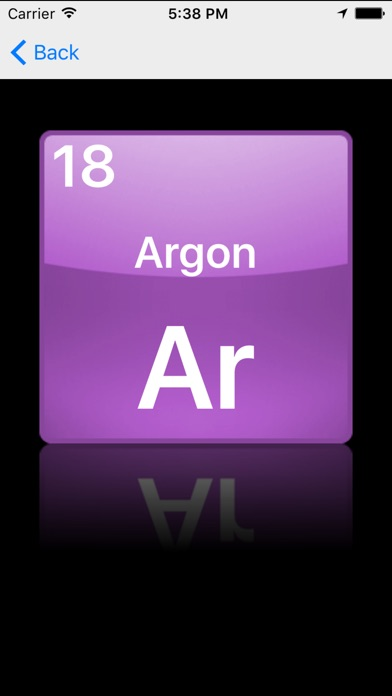 Periodic table of the chemical elements on the app store iphone screenshot 2 urtaz Images
