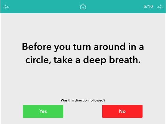 Screenshot #5 for Following Directions by Teach Speech Apps