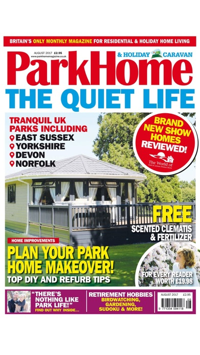 Park Home Holiday Caravan Britains ONLY Magazine For