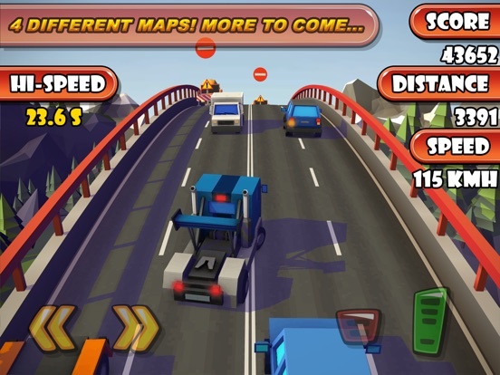 Screenshot 3 Highway Traffic Racer Planet