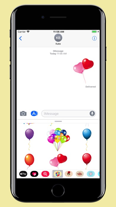download Balloons Stickers - For party apps 1
