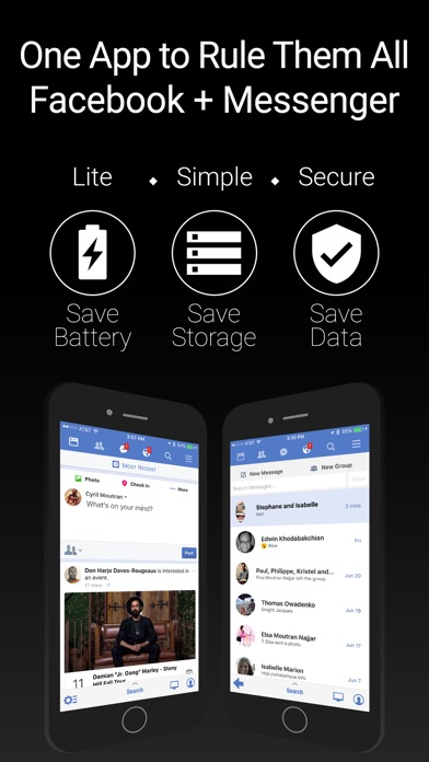 Friendly Plus for Facebook Screenshot