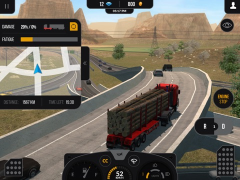Truck Simulator PRO 2 screenshot 2