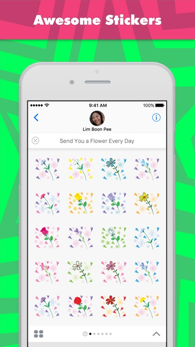 Send You A Flower Every Day review screenshots